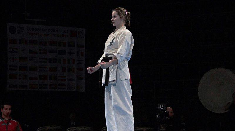 Medal Sensei Ani na 1 Mistrzostwach Europy EFK