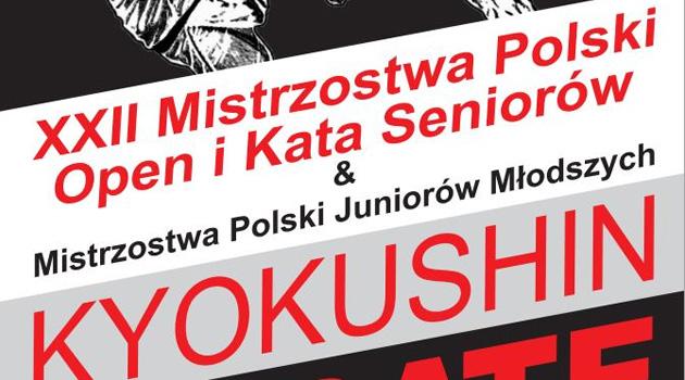 XXII Mistrzostwa Polski Open i kata seniorów i Juniorów Młodszych – KOMUNIKAT
