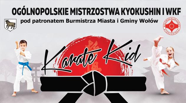 """IV OGÓLNOPOLSKIE MISTRZOSTWA KYOKUSHIN """"KARATE KID"""""""